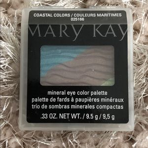 Mary Kay mineral eye color palette coastal colors